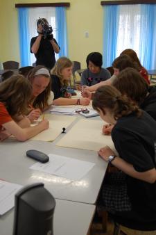 Při vyučování 1 (FOTO: Z. Kostincová)