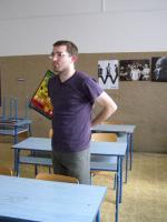 Marek Fajfr po výuce