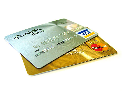 http://commons.wikimedia.org/wiki/File:Credit-cards.jpg
