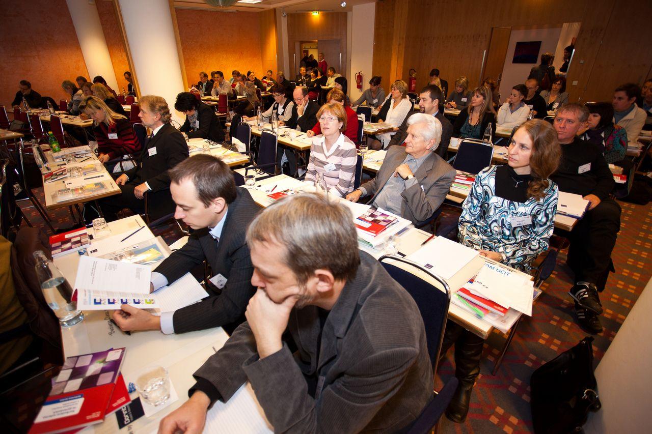 Účastníci Národní konference projektu KURIKULUM G