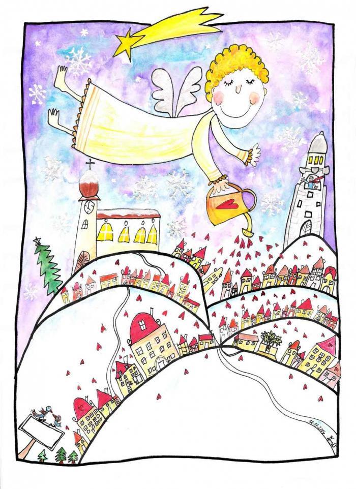 Vánoční pohlednice Tom 2006