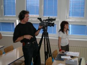 Zkouška kamery
