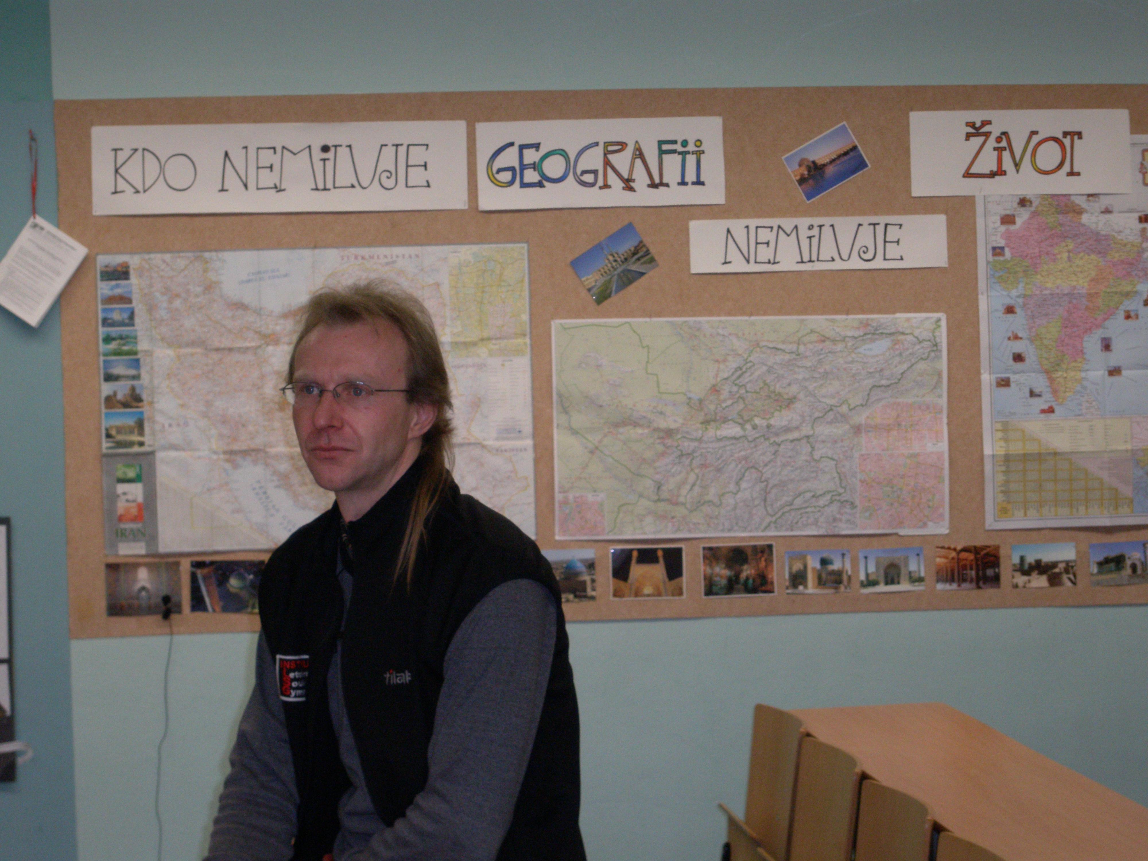 Pavel Bendl a GEOGRAFIE